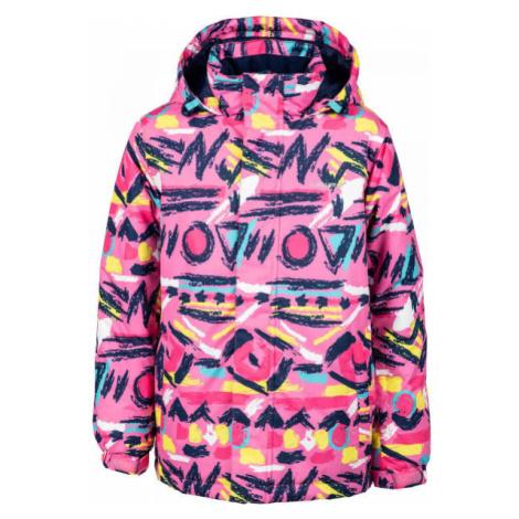 Lewro ANFET pink - Kids' snowboard jacket