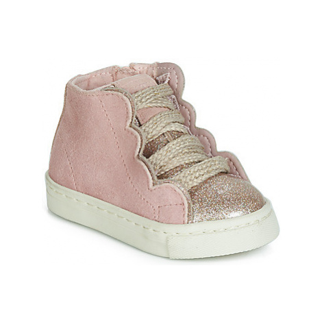 Gioseppo KUSEL girls's Children's Shoes (High-top Trainers) in Pink