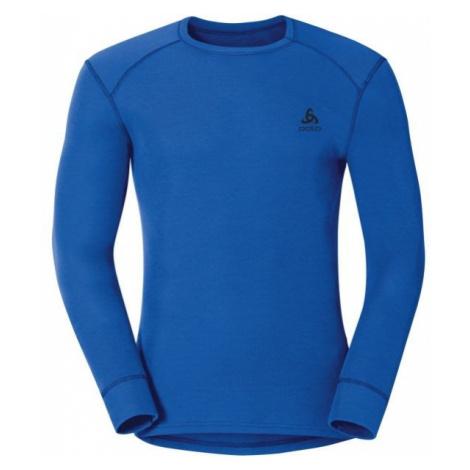 Odlo MEN ACTIVE L/S WARM blue - Men's functional T-shirt