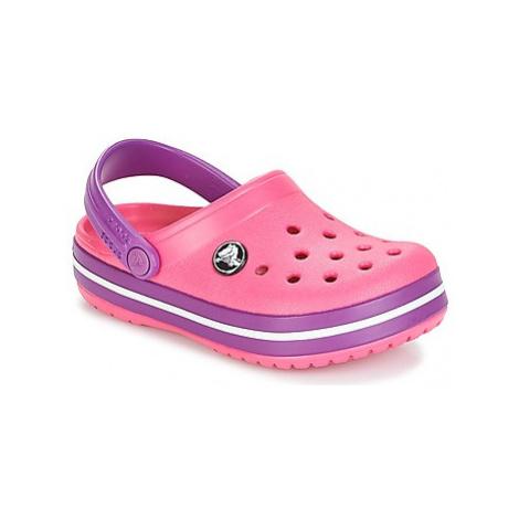Crocs CROCBAND CLOG K girls's Children's Clogs (Shoes) in Pink