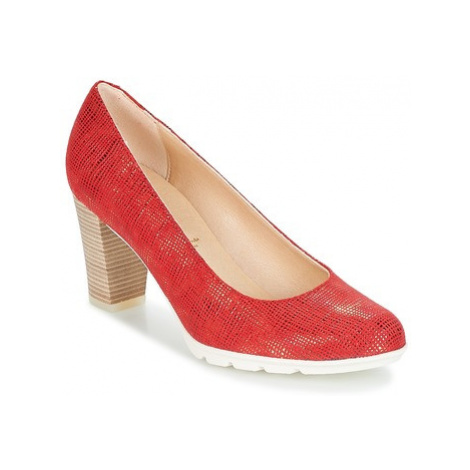 Dorking NATY women's Court Shoes in Red