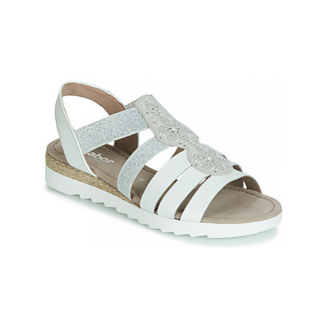 Gabor MOLDINO women's Sandals in White