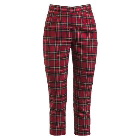 Hell Bunny - Irvine Cigarette Trouser - Girls trousers - red