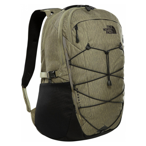 backpack The North Face Borealis 28 - Burnt Olive Green Rain Camo Print/TNF Black