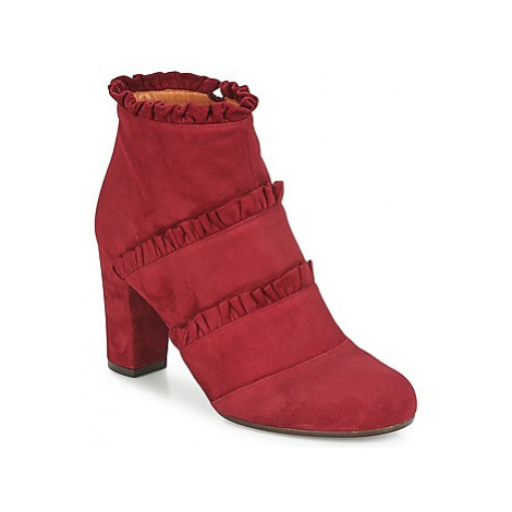 Chie Mihara KAFTAN women's Low Ankle Boots in Bordeaux