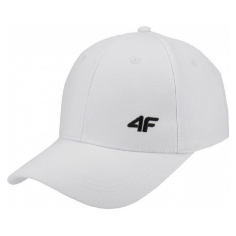 4F WOMENS CAPS white - Women's cap