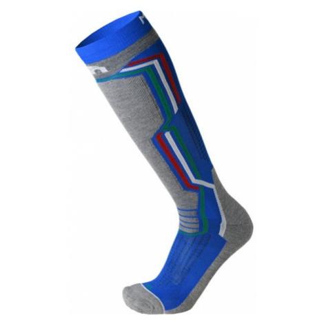 Mico MEDIUM WEIGHT ARGENTO X-STATIC SKI SOCKS blue - Ski socks