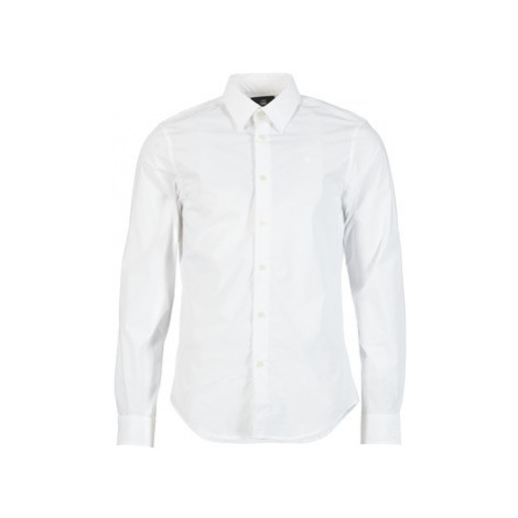 G-Star Raw CORE SHIRT men's Long sleeved Shirt in White
