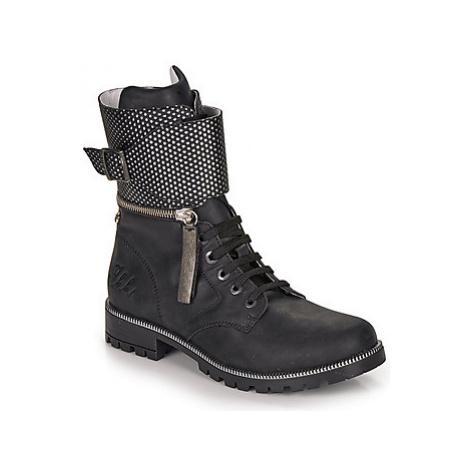 Ikks PEGGY girls's Children's High Boots in Black