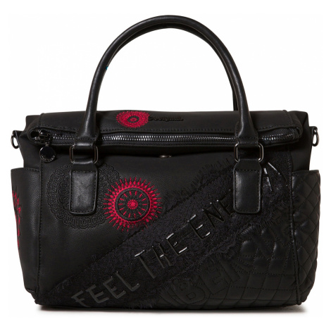 bag Desigual 19WAXPDX/Comunika Loverty - 2000/Negro - women´s