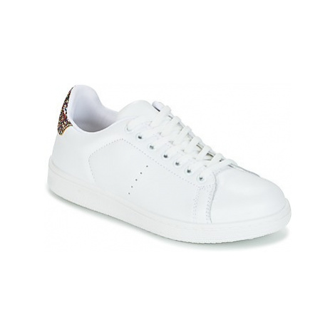 Yurban EXIVILE women's Shoes (Trainers) in White