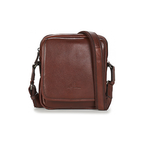 Hexagona LOYALE men's Pouch in Brown