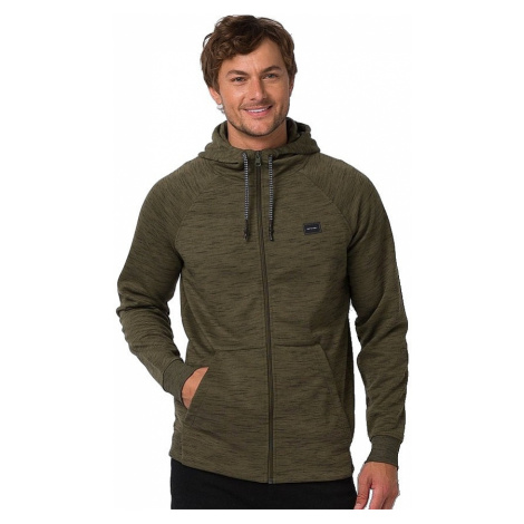 sweatshirt Animal Venture Zip - Olive Marl - men´s
