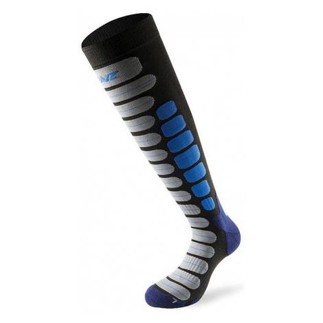 socks Lenz Skiing 2.0 - Anthracite/Blue