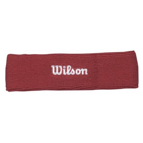 Wilson HEADBAND RD OSFA red - Tennis headband
