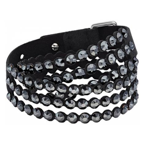 Swarovski Slake Black Crystal Power Bracelet