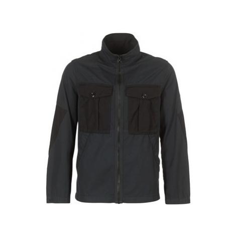 G-Star Raw TYPE C UTILITY PM OVERSHIRT men's Jacket in Black