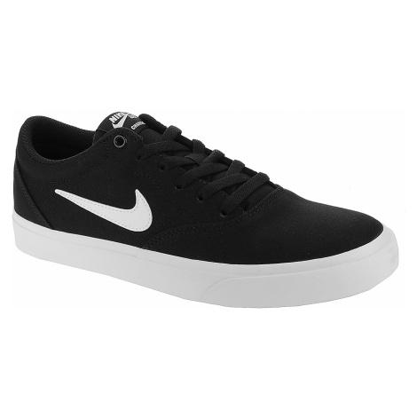 shoes Nike SB Charge Canvas - Black/White