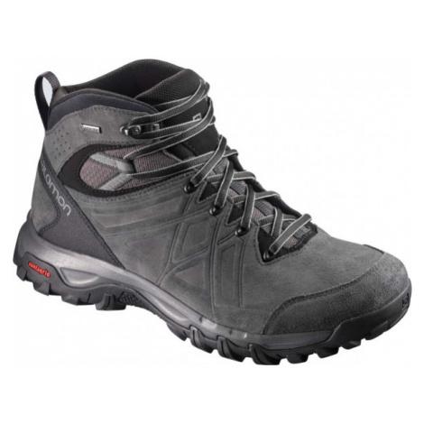 Salomon EVASION 2 MID LTR GTX black - Men's hiking shoes