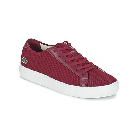 Lacoste L.12.12 117 2 women's Shoes (Trainers) in Red