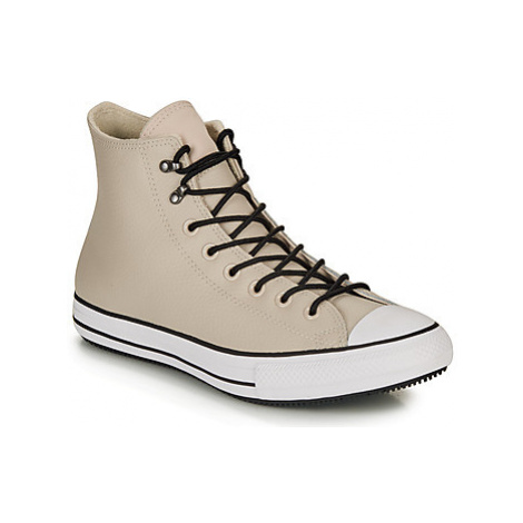 Converse CHUCK TAYLOR ALL STAR WINTER LEATHER BOOT HI women's Shoes (High-top Trainers) in Beige