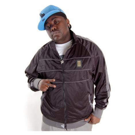 Grimey Wear Bling Track Jacket Black
