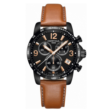 Mens Certina DS Podium Precidrive Chronograph Watch C0344173605700