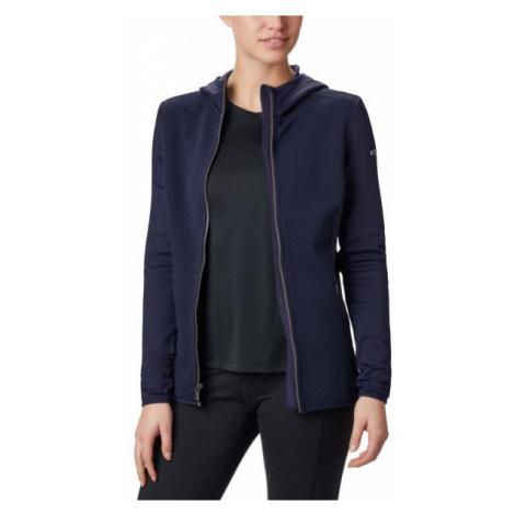 Columbia ROFFE RIDGE FULL ZIP HOODED dark blue - Women's jacket