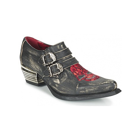 New Rock ROSTIN men's Smart / Formal Shoes in Black