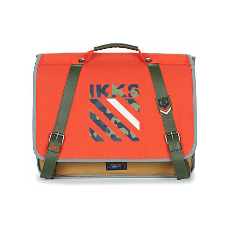 Ikks ARMY CARTABLE 38 CM boys's Briefcase in Orange