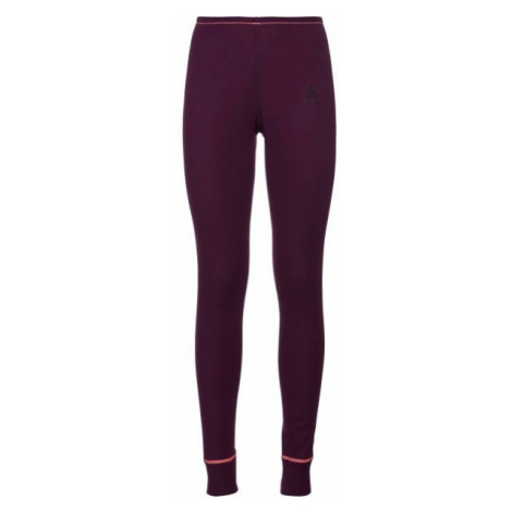 Odlo WARM PANT W red wine - Women's functional pants