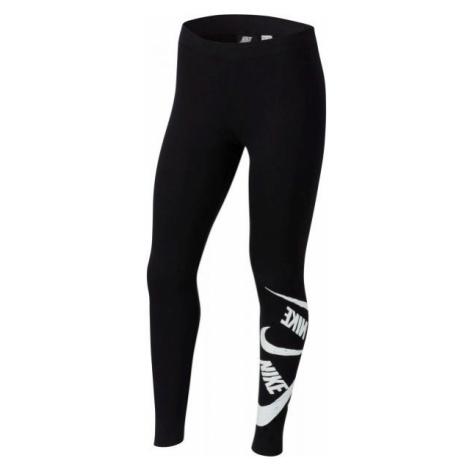 Nike NSW FAVORITES LEGGNG MARKER G black - Girls' leggings