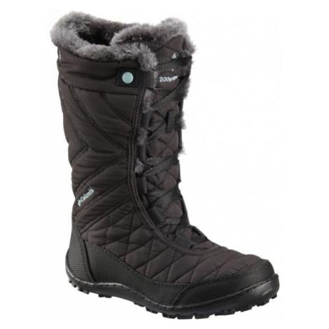 Columbia YOUTH MINX MID III WP OMNI-HEAT black - Girls' winter shoes