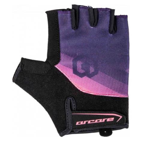 Arcore RACER blue - Short finger cycling gloves
