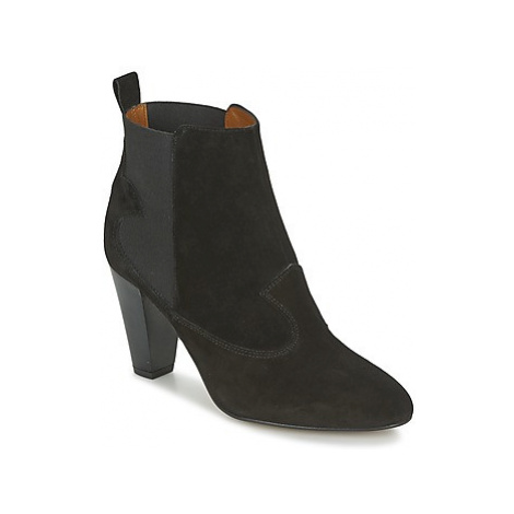Heyraud DAISY women's Low Ankle Boots in Black