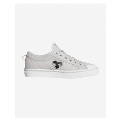 adidas Originals Nizza Trefoil Sneakers White