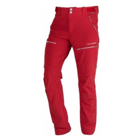 Northfinder GUHIJAN red - Men's outdoor pants