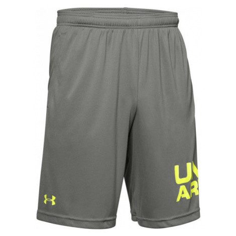 Under Armour TECH WORDMARK SHORTS gray - Men's shorts