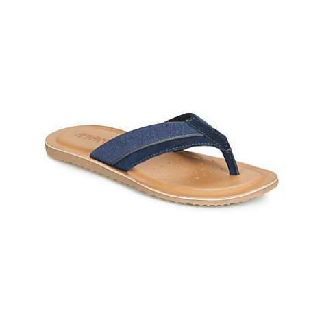 Geox U ARTIE men's Flip flops / Sandals (Shoes) in Blue