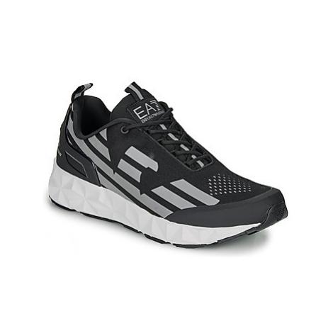 Emporio Armani EA7 ULTIMATE C2 KOMBAT U men's Shoes (Trainers) in Black
