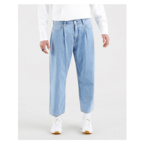 Levi's® Stay Loose Pleated Crop Jeans Blue Levi´s