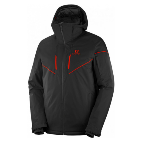 Salomon STORMRACE JKT M black - Men's ski jacket