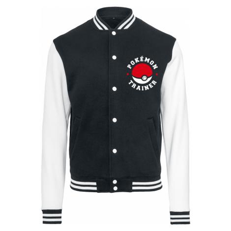 Pokémon - Trainer - College Jacket - black-white
