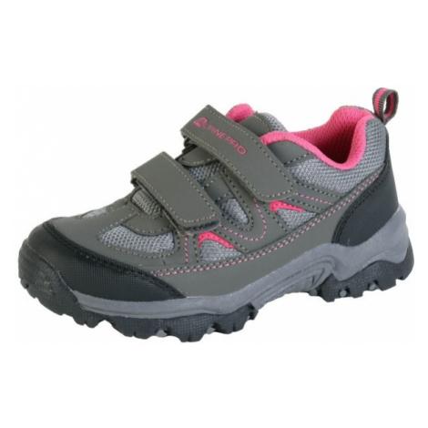 ALPINE PRO LIONO gray - Kids' outdoor shoes