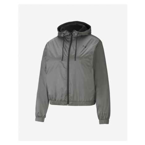 Puma Metallic Nights Woven Jacket Silver