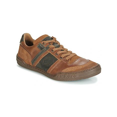 Kickers JEXPLORE men's Shoes (Trainers) in Brown