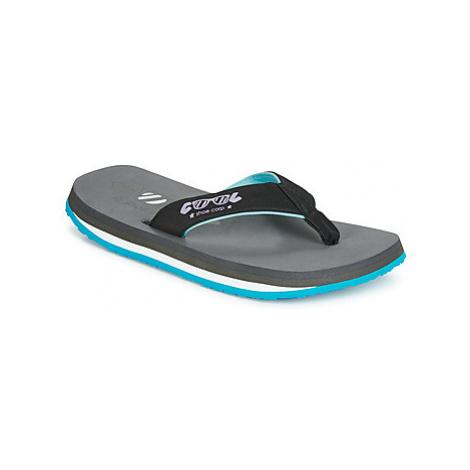 Cool shoe BUTTON men's Flip flops / Sandals (Shoes) in Grey