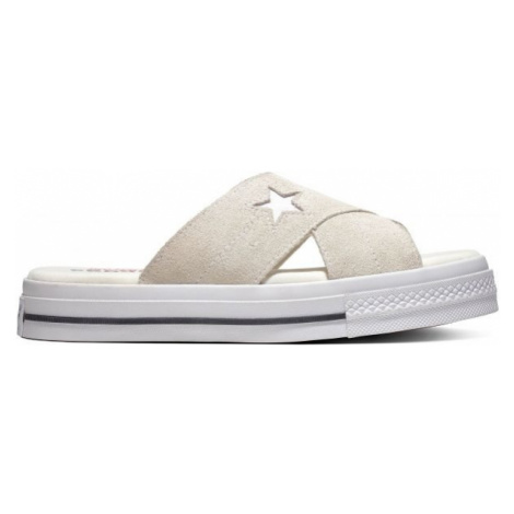 Converse ONE STAR SANDAL white - Women's slippers