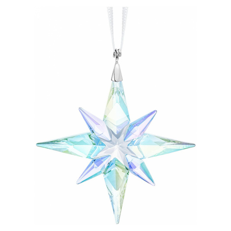 Star Ornament, Crystal AB, small Swarovski