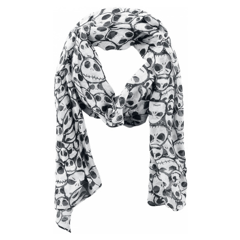 The Nightmare Before Christmas - - Scarf - white-black